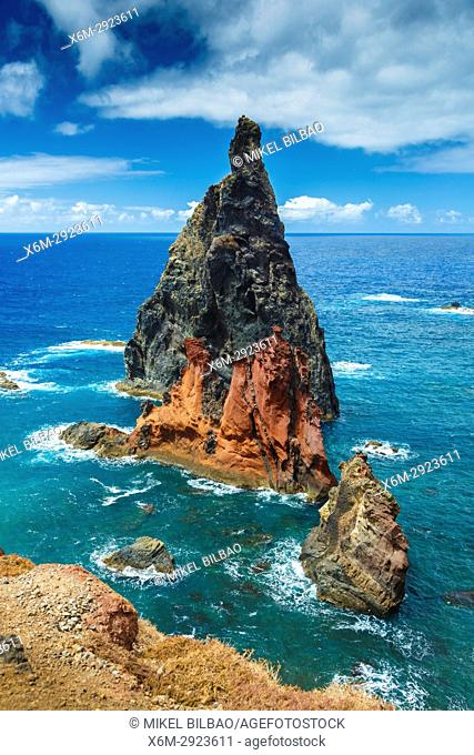 Volcanic formations. Punta de San Lorenzo. Madeira, Portugal, Europe