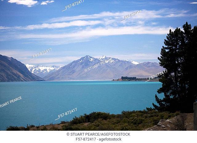 Mt Cook, Lake Pukaki, South Island, New Zealand