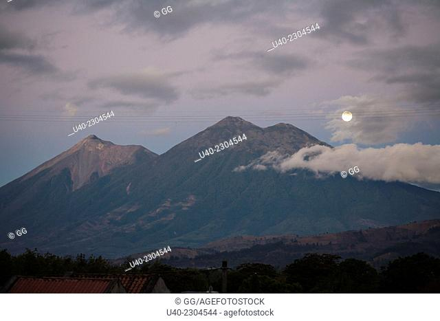 Guatemala, Antigua, Full Moon, Spring Solctice