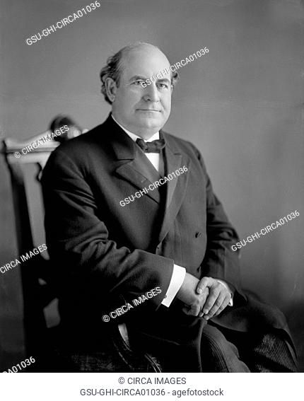 William Jennings Bryan (1860-1925), American Politician and participant in the Famous Scopes Trial of 1925, Portrait, circa early 1900's