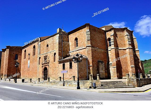 Co-cathedral of San Pedro, XII-XVIIth centuries. Soria, Spain