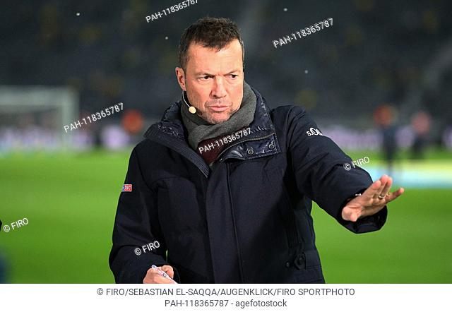 firo: 16.03.2019 Football, Football: 1. Bundesliga, Season 2018/2019 Hertha BSC Berlin - BVB Borussia Dortmund 2: 3 Sky Expert Lothar Matthaus, Matthaeus