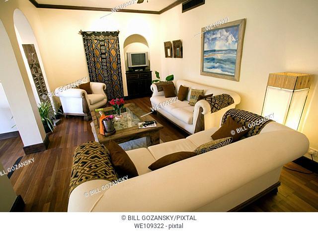 Luxury Room Interior View - Hemingways Resort - Watamu, Kenya
