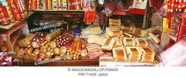 Prayer and Blessings Supplies Shaukeiwan Market Hong Kong