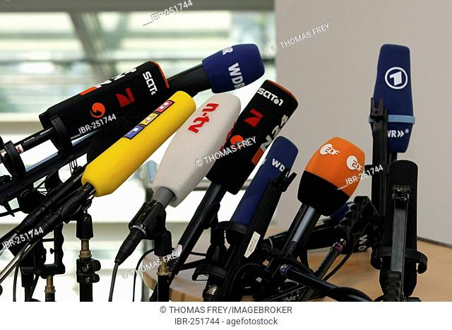 Microphones from german tv channels