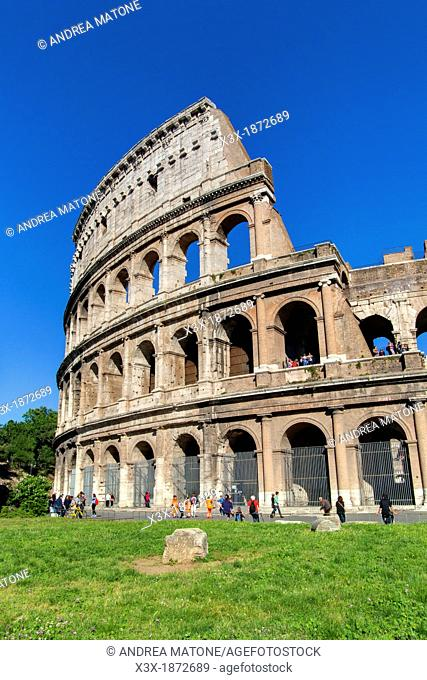 The Roman Colosseum Rome Italy