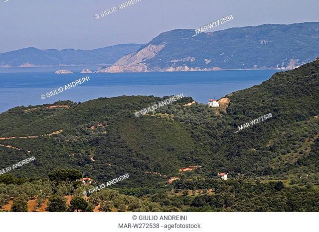 europe, greece, pelion, promyrio village