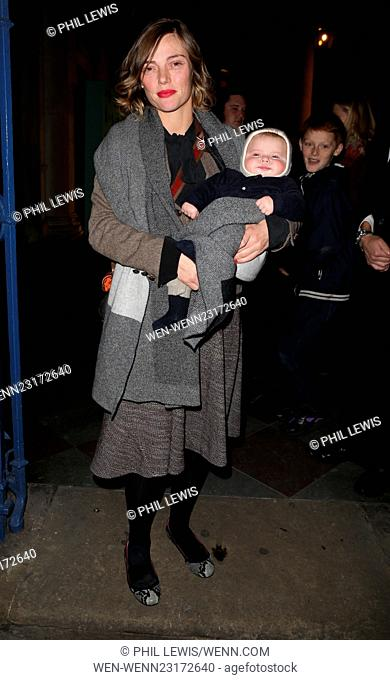 Skate at Somerset House with Fortnum and Mason VIP launch - Outside Featuring: Camilla Rutherford Where: London, United Kingdom When: 17 Nov 2015 Credit: Phil...