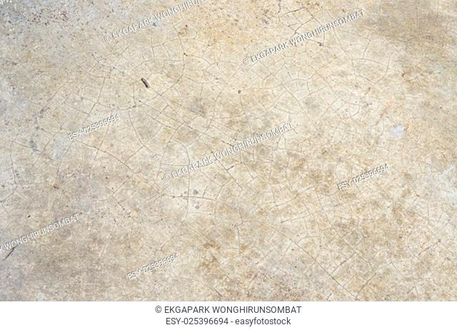 White Stone Granite with Crack on a Floor Texture