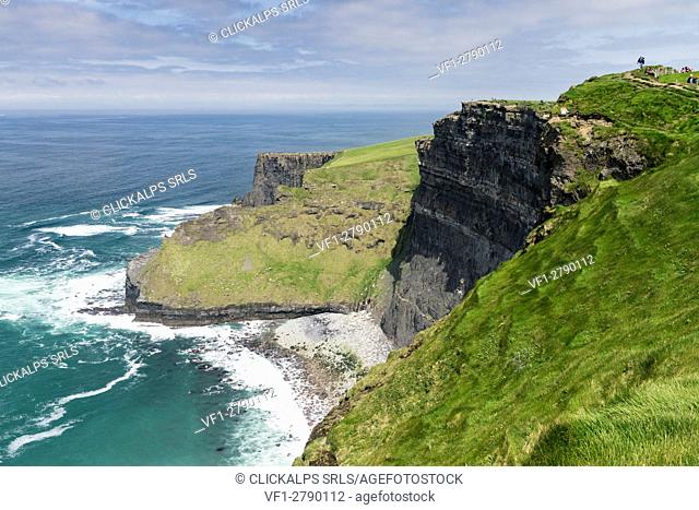 Cliffs of Moher, Liscannor, Munster, Co. Clare, Ireland, Europe