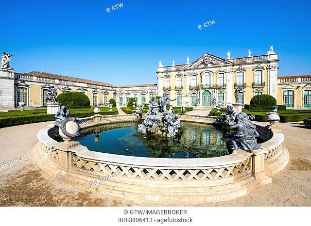Neptune's Lake, Queluz National Palace, Palácio Nacional de Queluz, Queluz, Portugal
