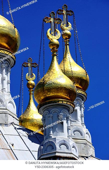 Russian ortodox church in Geneva, Switzerland