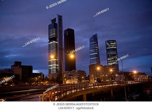 business area, Madrid