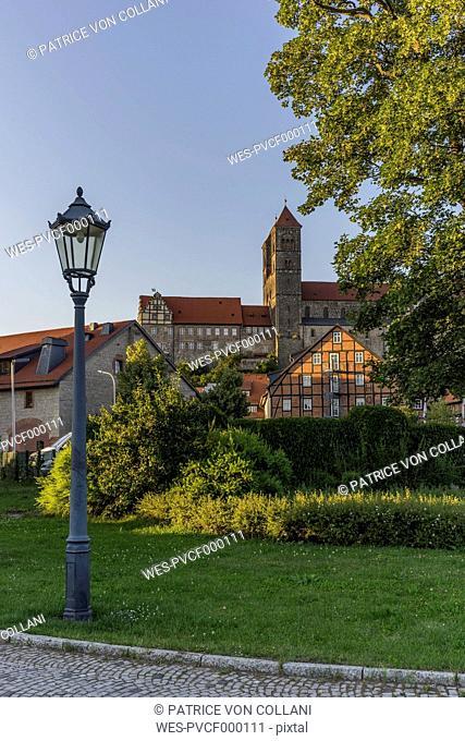 Germany, Saxony-Anhalt, Quedlinburg, Quedlinburg Abbey