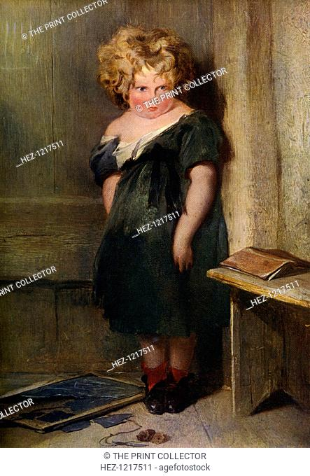 'A Naughty Child', 19th century, (1912). A colour print from Famous Paintings, with an introduction by Gilbert Chesterton, Cassell and Company, (London