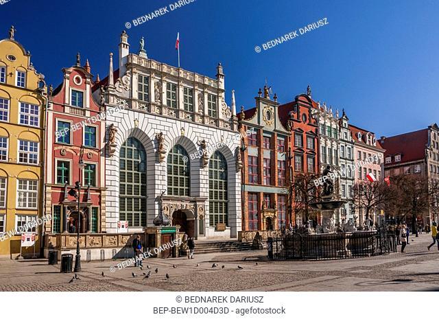 The Artus Court. Gdansk, Pomeranian Voivodeship, Poland