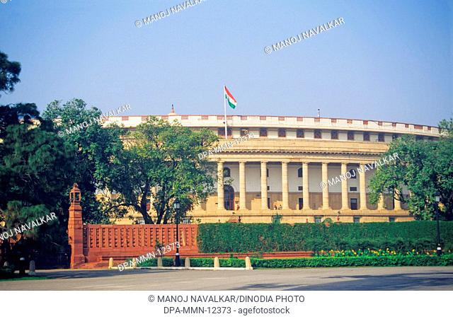 Parliament House , New Delhi , India