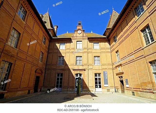 Ingres Museum, old residence of the bishops, Montauban, Department Tarn-et-Garonne, Midi-Pyrenees, France / Jean Auguste Dominique Ingres, Musee Ingres