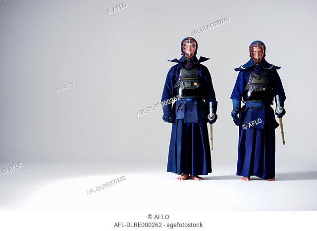 Japanese kendo athletes
