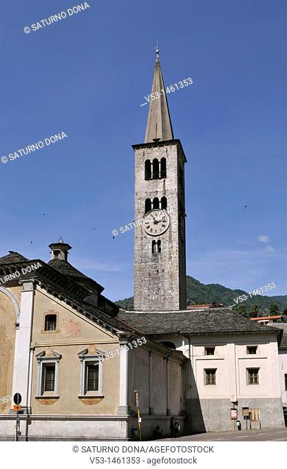 Collegiata di Sant'Ambrogio church - Omegna - Lake Orta - Piedmont - Italy
