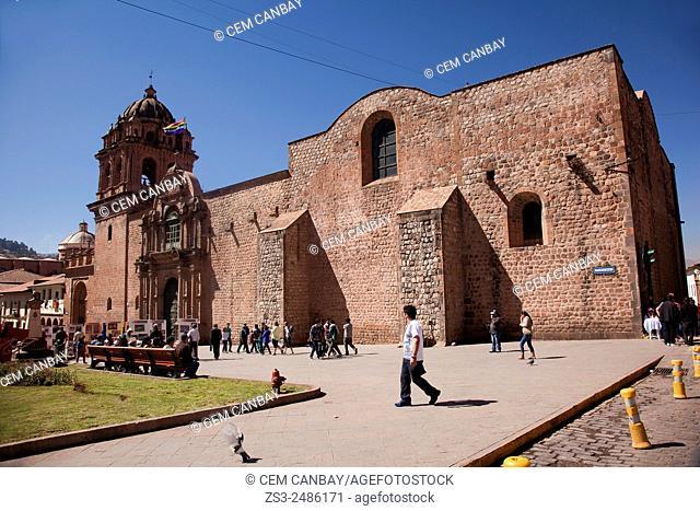 La Merced Church in town center, Cuzco, Peru, South America