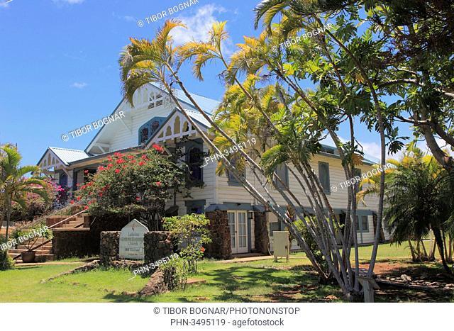 Hawaii, Maui, Lahaina, United Methodist Church