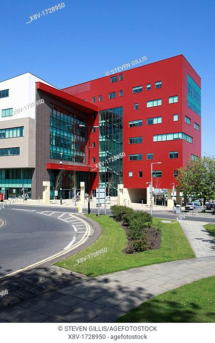 Barnsley College, Barnsley, South Yorkshire, England, UK