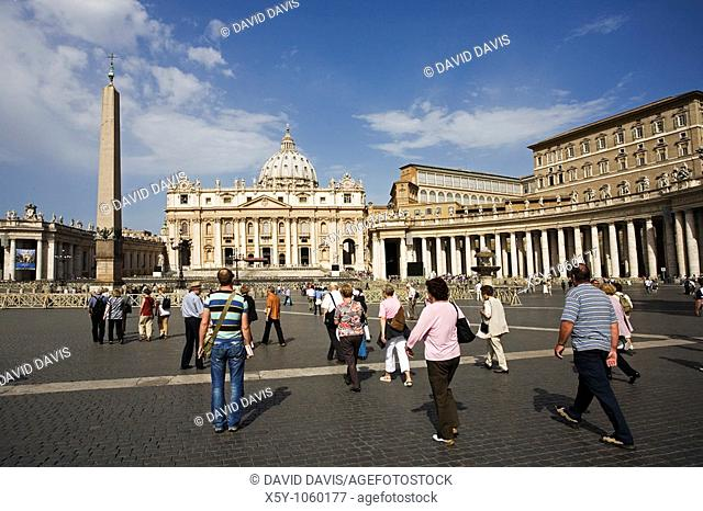 St Peter's Basilica Vatican City Italy