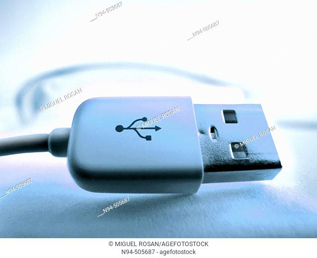 Mouse with USB connection