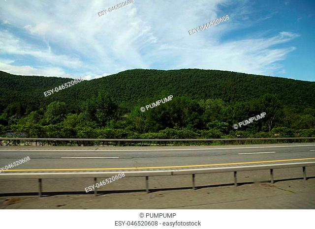 Landscape mountain in New York ,USA