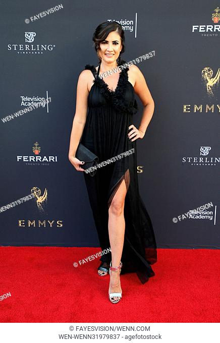 69th Los Angeles Area Emmy Awards Featuring: Naibe Reynoso Where: Los Angeles, California, United States When: 23 Jul 2017 Credit: FayesVision/WENN