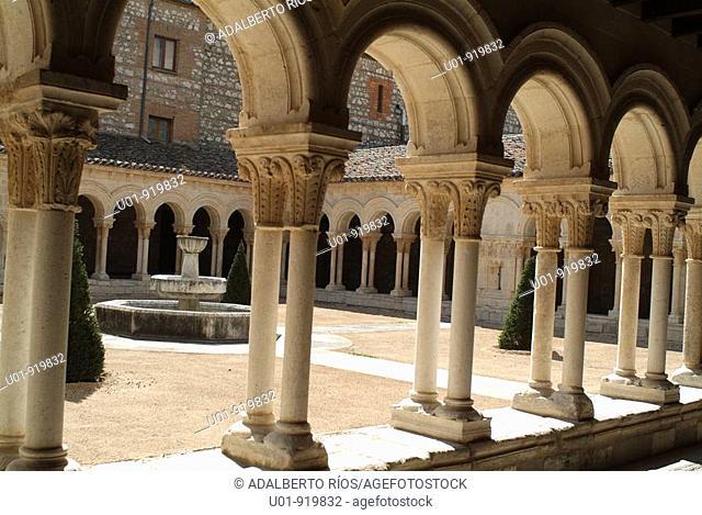 Royal monastery of Santa María la Real. Burgos, Spain
