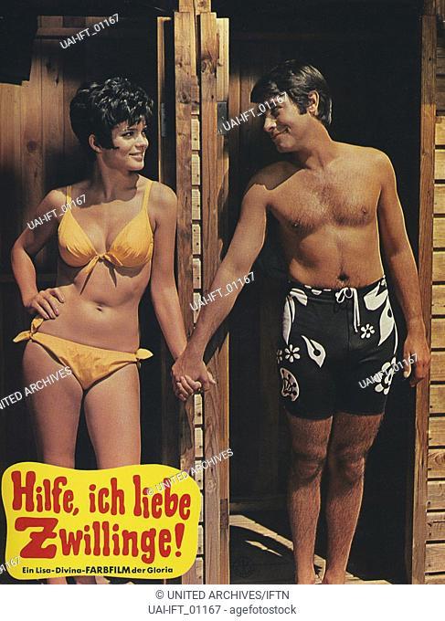 Hilfe, ich liebe Zwillinge, Deutschland 1969, Regie: Peter Weck, Darsteller: Uschi Glas, Roy Black
