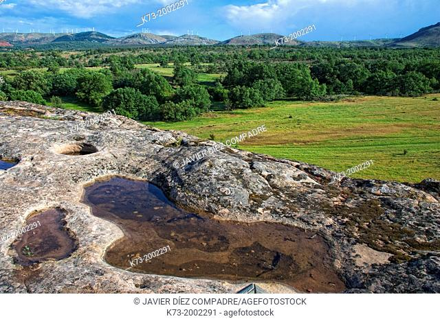 Celtiberian and Roman Archaeological Site of Tiermes. Montejo de Tiermes. Soria Province. Castilla y Leon. Spain