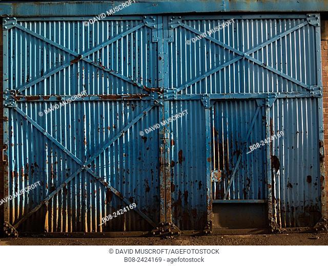 building,derelict,Sheffield,UK