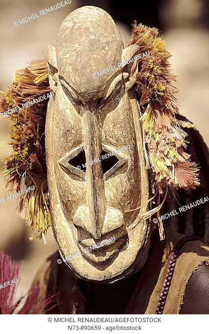 Dogon mask, Dogon Country, Mali