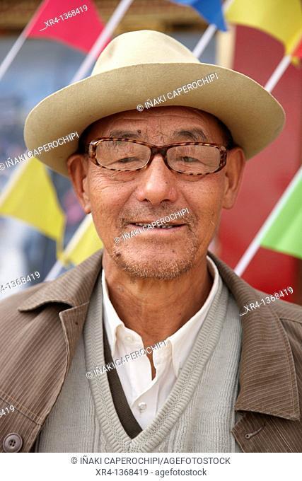 Festival of minorities, Old Town, Zhongdian Shangri-La Valley Valley, Shangri-La Zhongdian, Yunnan, China