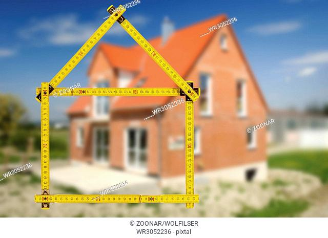 house in construction for sale