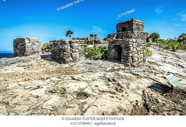 Mayan site of Tulum, Riviera Maya