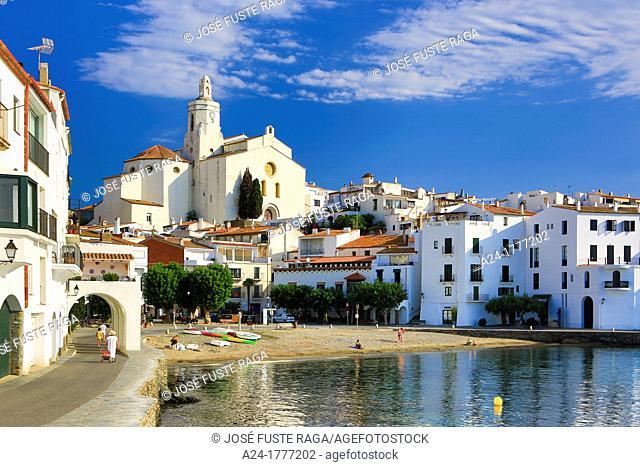 Spain , Catalonia, Girona Province,Costa Brava Coast , Cadaques City