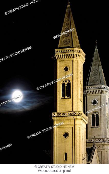 Germany, Bavaria, Munich, St  Ludwigs Church