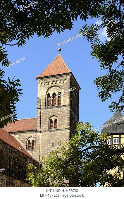 Collegiate Church of St Servatius, Quedlinburg, Harz, Saxony-Anhalt, Germany, Europe