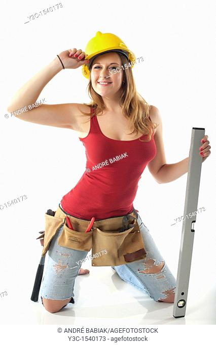 Do it yourself female handyman