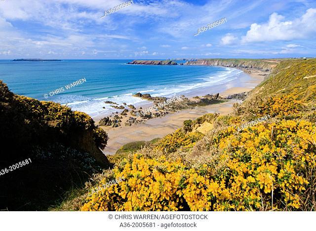 Marloes St Brides Bay Pembrokeshire Wales