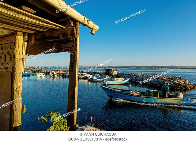The fishing harbour at Pointe Courte, Sete, Herault, France