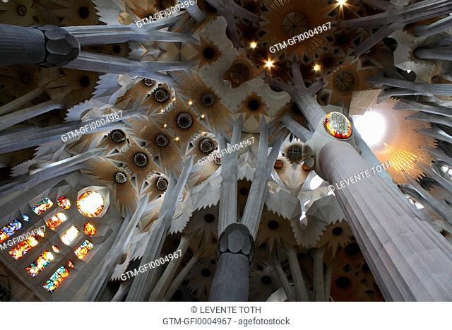 La Sagrada Familia, Barcelona - detail