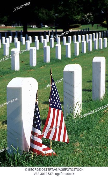 Graves, Fort Smith National Cemetery, Arkansas