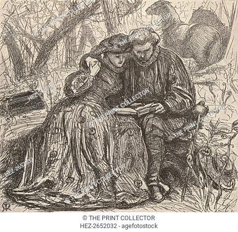 'Illustration from Sister Anne's Probation, c1850-1890, (1923). Harriet Martineau (1802-1876) was a British social theorist and Whig writer