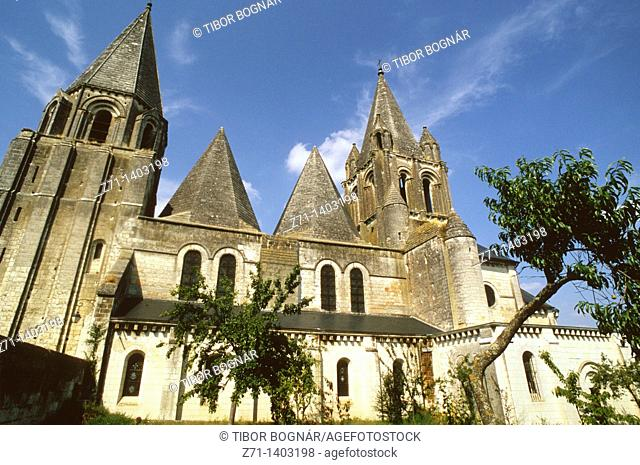 France, Loire Valley, Loches, St-Ours Church