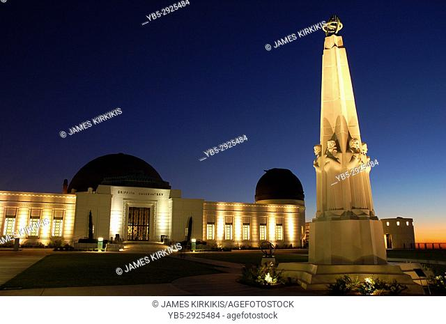 Night Viewing at the Griffith Park Observatory, Los Angeles